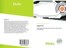 Bookcover of Lean IT