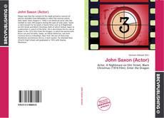 Capa do livro de John Saxon (Actor)