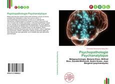 Bookcover of Psychopathologie Psychanalytique