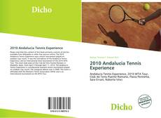 Bookcover of 2010 Andalucia Tennis Experience
