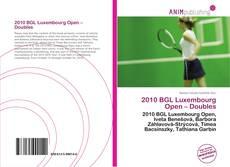 Borítókép a  2010 BGL Luxembourg Open – Doubles - hoz