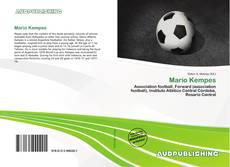 Portada del libro de Mario Kempes
