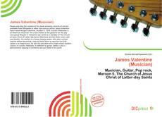 Portada del libro de James Valentine (Musician)