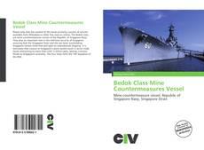 Buchcover von Bedok Class Mine Countermeasures Vessel