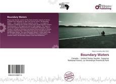 Capa do livro de Boundary Waters