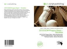 Portada del libro de 2010 ECM Prague Open – Doubles