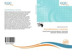 Bookcover of Asynchronous Learning