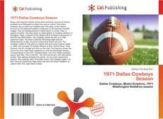 Buchcover von 1971 Dallas Cowboys Season