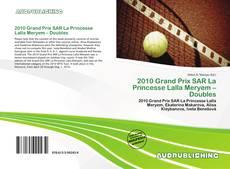 Borítókép a  2010 Grand Prix SAR La Princesse Lalla Meryem – Doubles - hoz