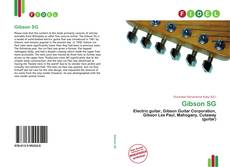 Bookcover of Gibson SG