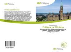 Borítókép a  Politique de l'Ontario - hoz
