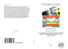 Bookcover of Marin Sais