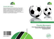 Capa do livro de Claudio Marangoni