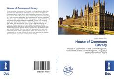 Copertina di House of Commons Library