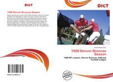 Обложка 1988 Denver Broncos Season