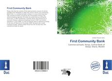 Bookcover of First Community Bank