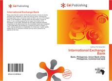 Capa do livro de International Exchange Bank