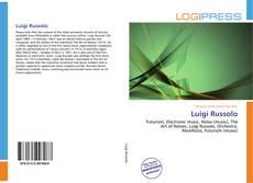 Buchcover von Luigi Russolo