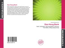 Bookcover of Dao Heng Bank