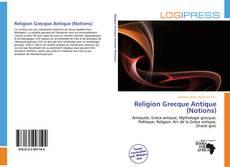 Portada del libro de Religion Grecque Antique (Notions)