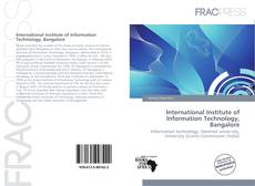 Bookcover of International Institute of Information Technology, Bangalore