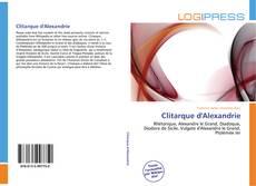 Copertina di Clitarque d'Alexandrie