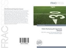 Buchcover von 1933 Portsmouth Spartans Season