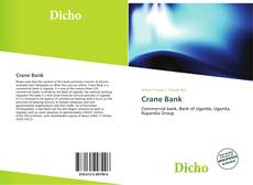 Bookcover of Crane Bank