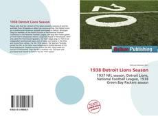 1938 Detroit Lions Season的封面