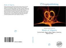 Borítókép a  Bank of Algeria - hoz