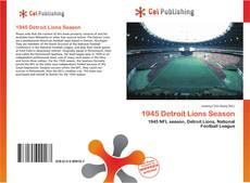 Обложка 1945 Detroit Lions Season