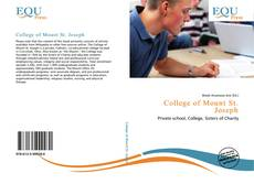 Bookcover of College of Mount St. Joseph