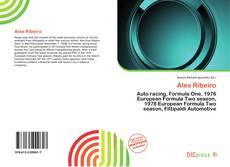 Capa do livro de Alex Ribeiro