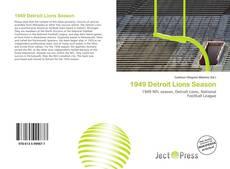 Обложка 1949 Detroit Lions Season