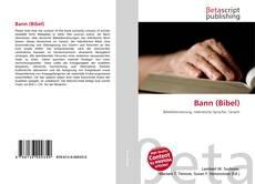 Bookcover of Bann (Bibel)