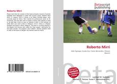 Bookcover of Roberto Mirri