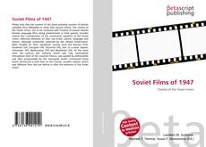 Bookcover of Soviet Films of 1947