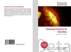 Portada del libro de National Council of Namibia