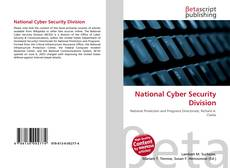National Cyber Security Division的封面