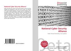 National Cyber Security Alliance的封面