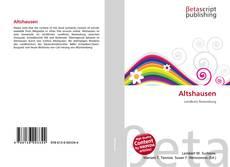 Bookcover of Altshausen