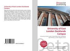 University of East London Docklands Campus的封面