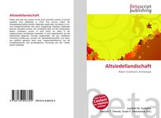 Altsiedellandschaft的封面