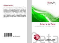 Bookcover of Roberto de' Rossi