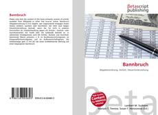 Bookcover of Bannbruch