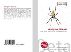 Capa do livro de Aenigma (Genus)