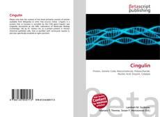 Bookcover of Cingulin