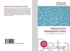 Bookcover of National Crisis Management Centre