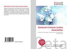 Portada del libro de National Criminal Justice Association