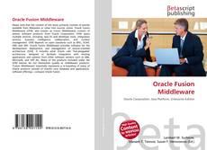 Borítókép a  Oracle Fusion Middleware - hoz